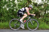 Triathlon Event cycling